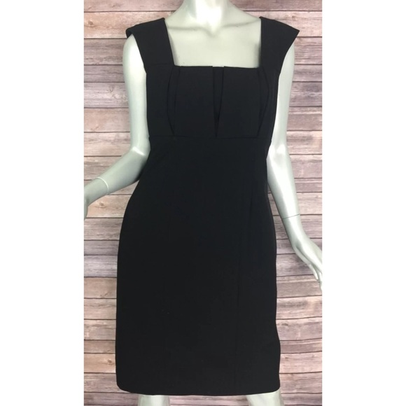 01a33fa9963 Calvin Klein Dresses   Skirts - Calvin Klein Sheath Dress 8 Career Square  Neck